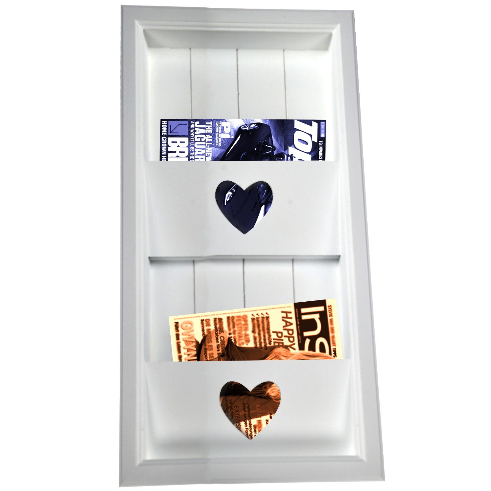 Ankleidezimmer Einrichten Ikea ~ Zeitschriftenhalter Zeitungshalter Herz Zeitung Wandzeitungshalter