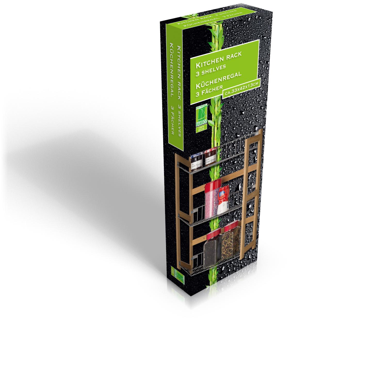 wandregal k chenregal h ngeregal regal schrank h ngeschrank bambus k che 3f cher ebay. Black Bedroom Furniture Sets. Home Design Ideas