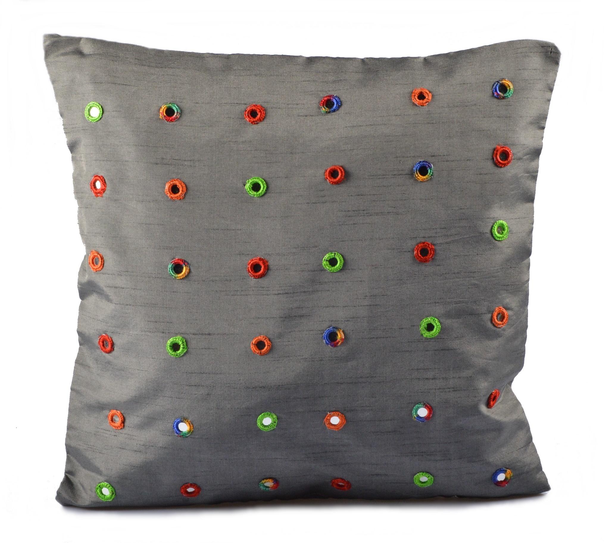 kissenh lle kissenbezug dekokissen kissen deko bezug bunt sofakissen h lle 45x45 ebay. Black Bedroom Furniture Sets. Home Design Ideas