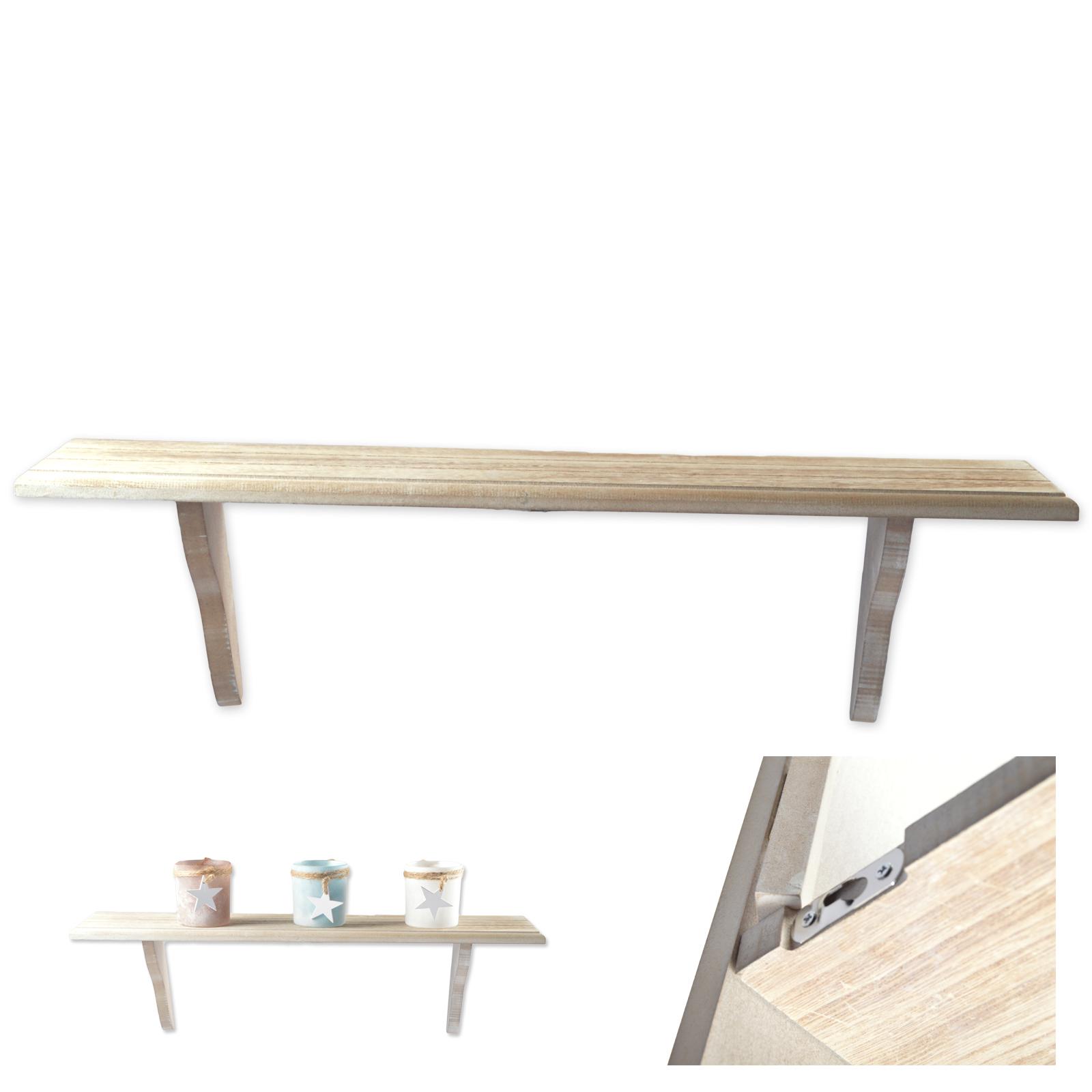 wandboard elisa wandregal h ngeregal regal b cherregal shabby chic holz ebay. Black Bedroom Furniture Sets. Home Design Ideas