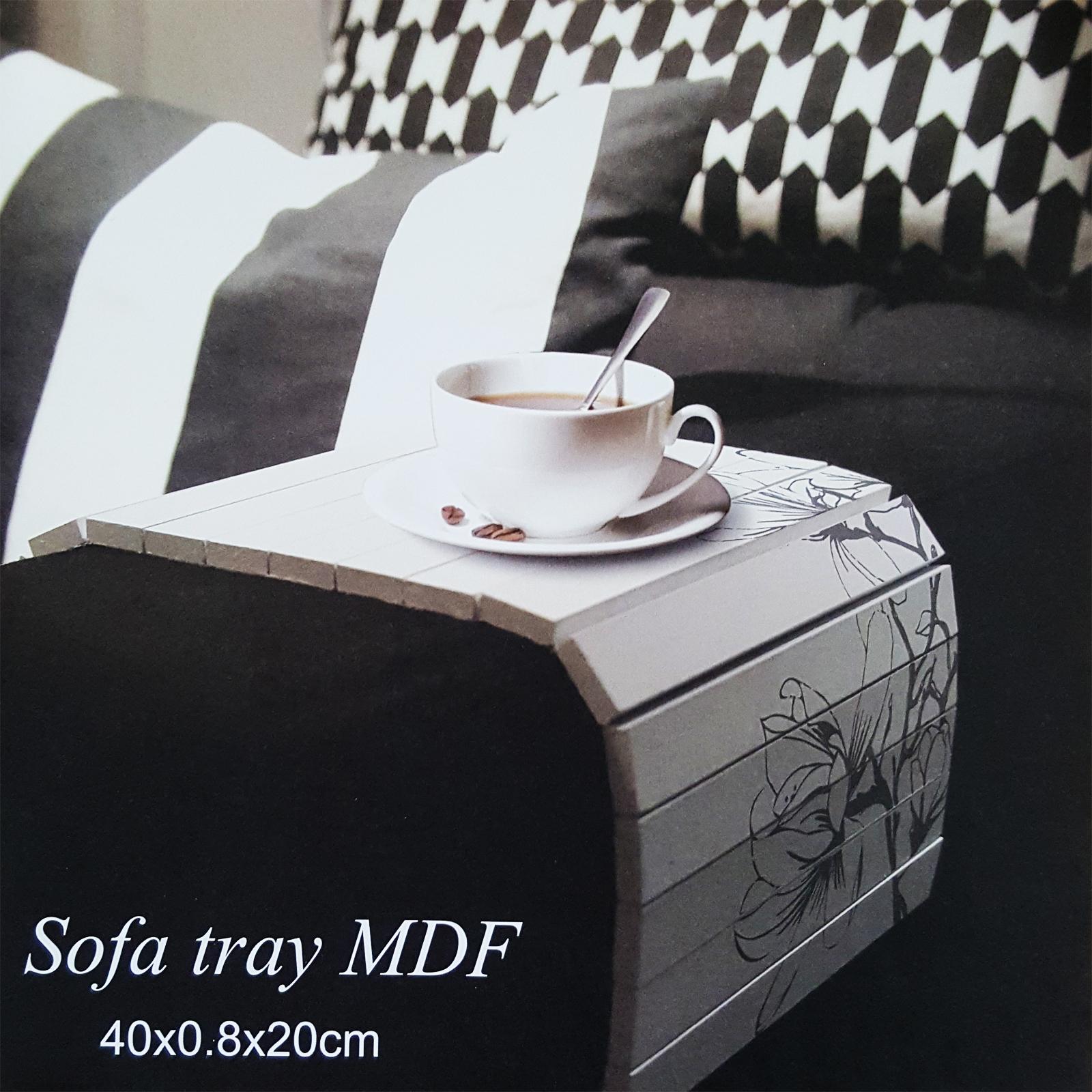sofatablett mdf flexablage tablett ablage armlehnen sofa couch ablage ebay. Black Bedroom Furniture Sets. Home Design Ideas