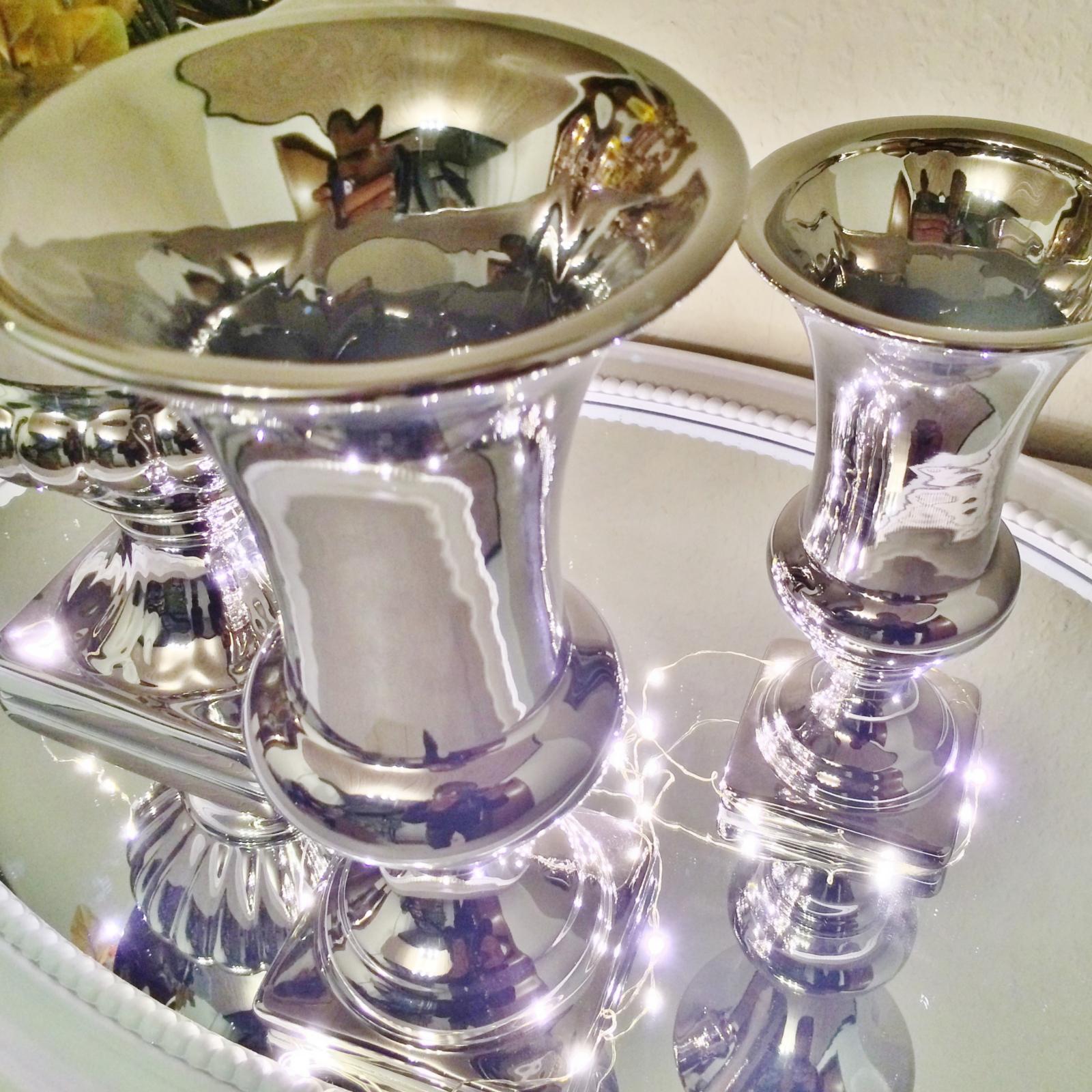 3 various vases modern extravagant ceramic deco dekovase. Black Bedroom Furniture Sets. Home Design Ideas