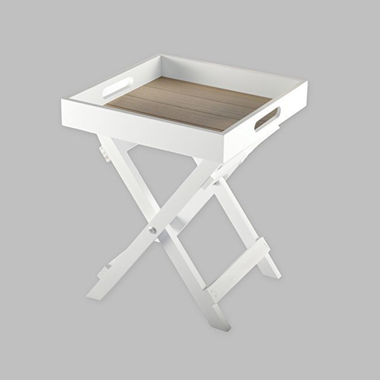 butlers tray tablett tisch beistelltisch shabby chic. Black Bedroom Furniture Sets. Home Design Ideas