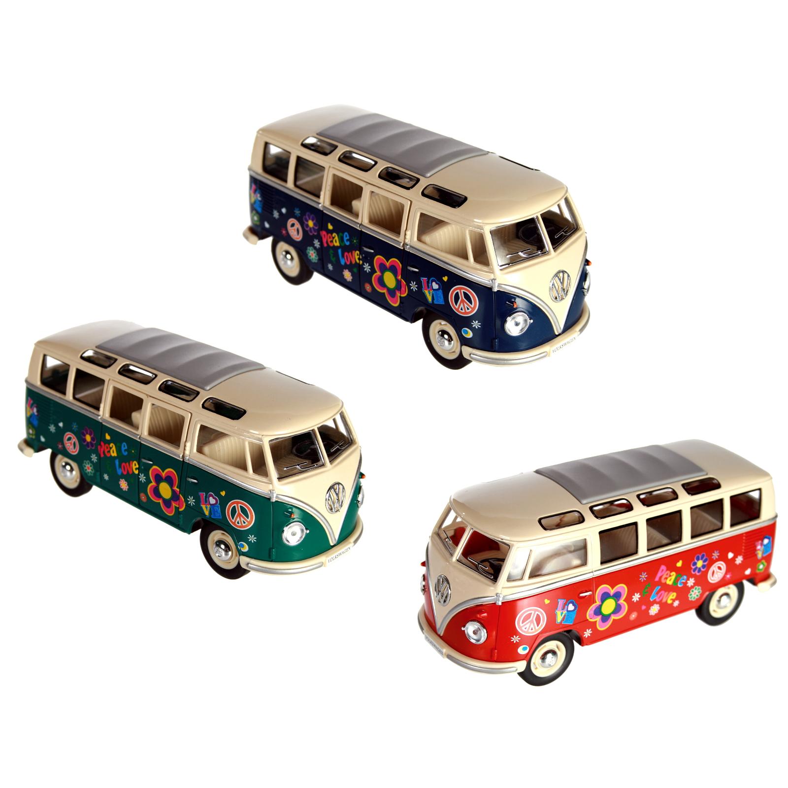 vw bulli t1 model car toy car bus collectable grafitti. Black Bedroom Furniture Sets. Home Design Ideas