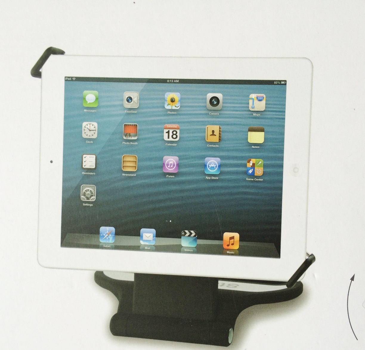 ipad halter 2 new ipad 4 ipad mini stand 360. Black Bedroom Furniture Sets. Home Design Ideas