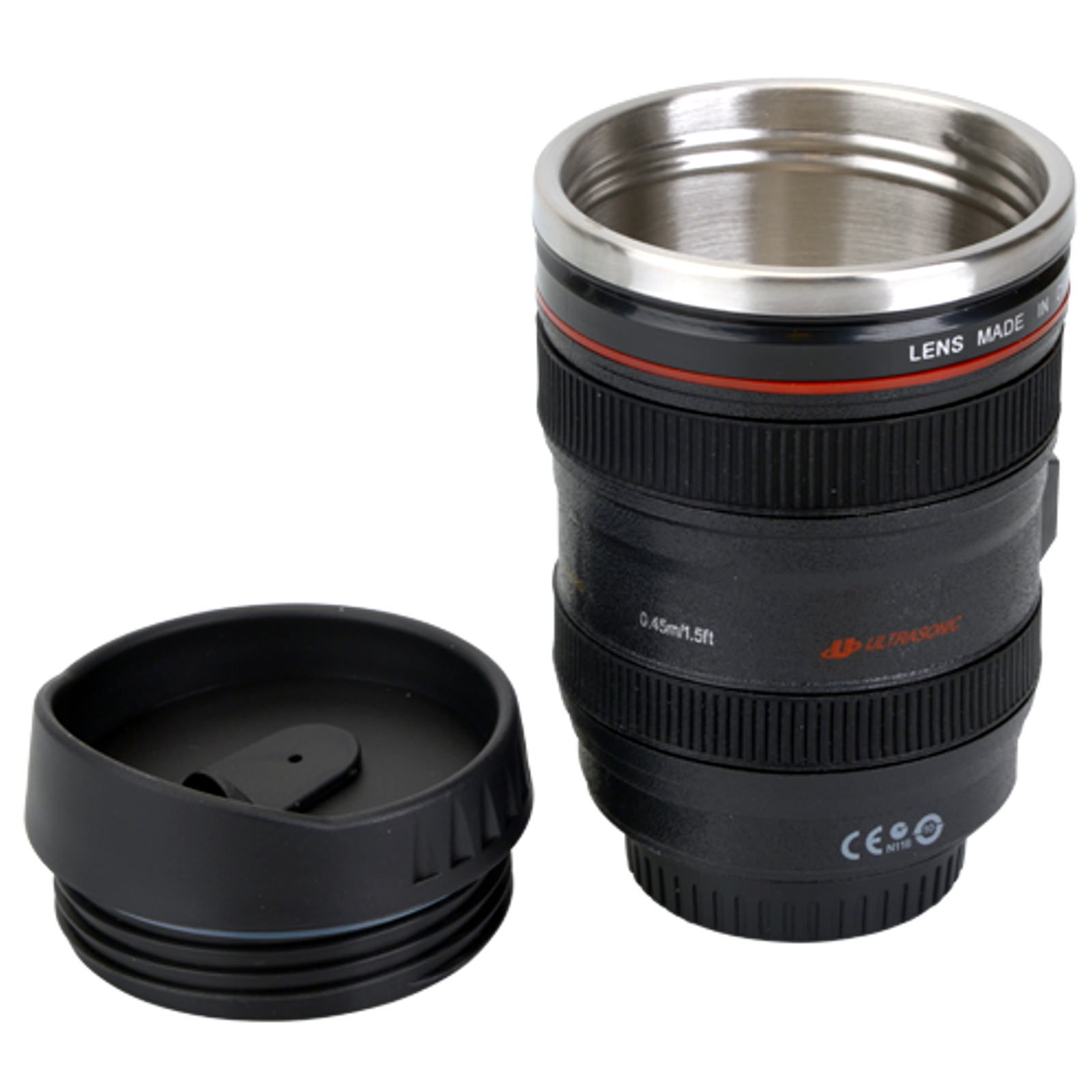 Objective Coffee Cups Canon Ef 24 4 1 In Thermo Mug Camera