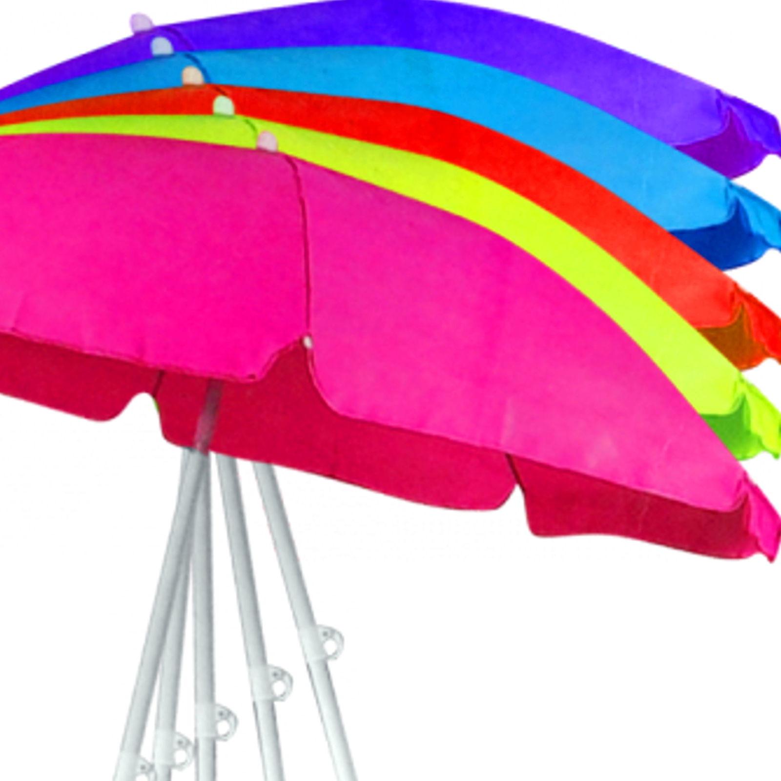 150 cm 160 cm sonnenschirm strandschirm schirm gartenschirm 5 farben ebay. Black Bedroom Furniture Sets. Home Design Ideas