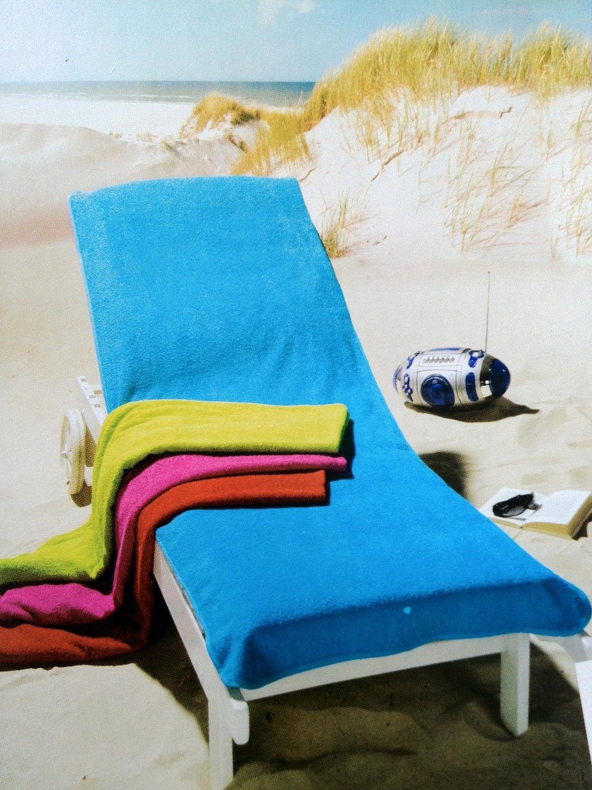 2 gr en frottee schonbezug bezug auflage gartenliege liege stuhl gartenstuhl ebay. Black Bedroom Furniture Sets. Home Design Ideas