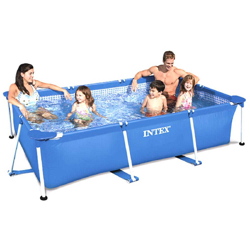 Swimming pool frame 300x200x75cm swimming pool paddling for Family paddling pool