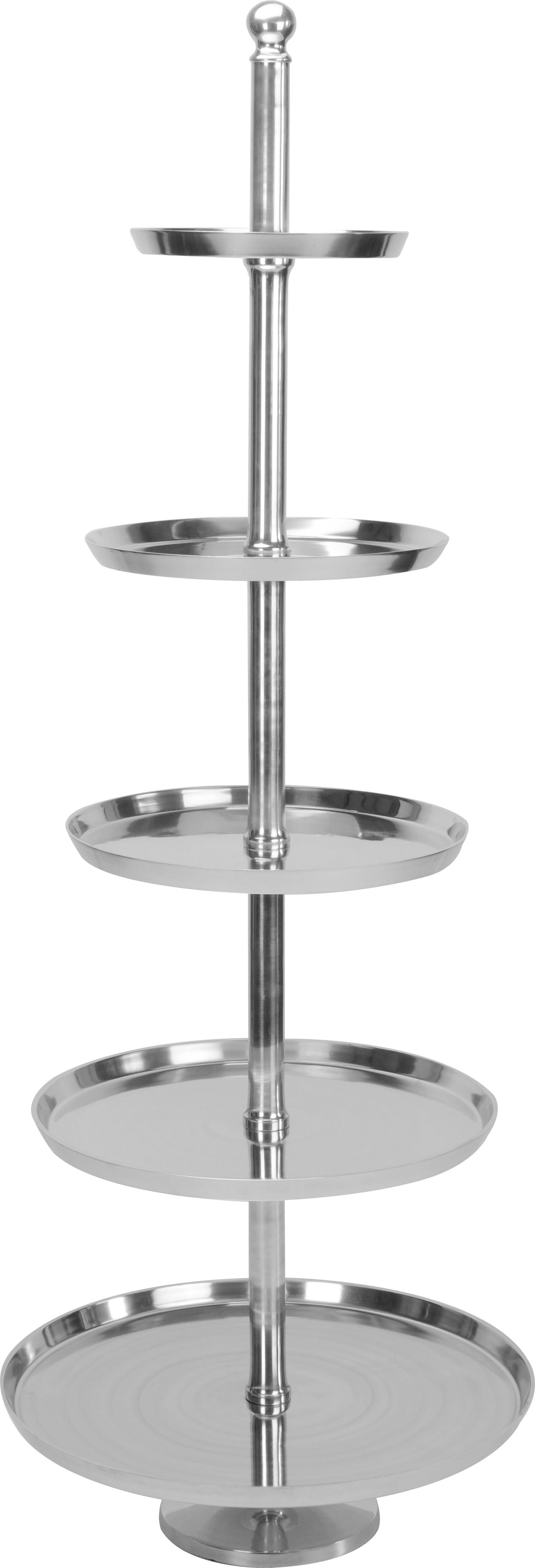 xxl etagere metalletagere tortenst nder kuchenst nder aluminium servierplatten ebay. Black Bedroom Furniture Sets. Home Design Ideas