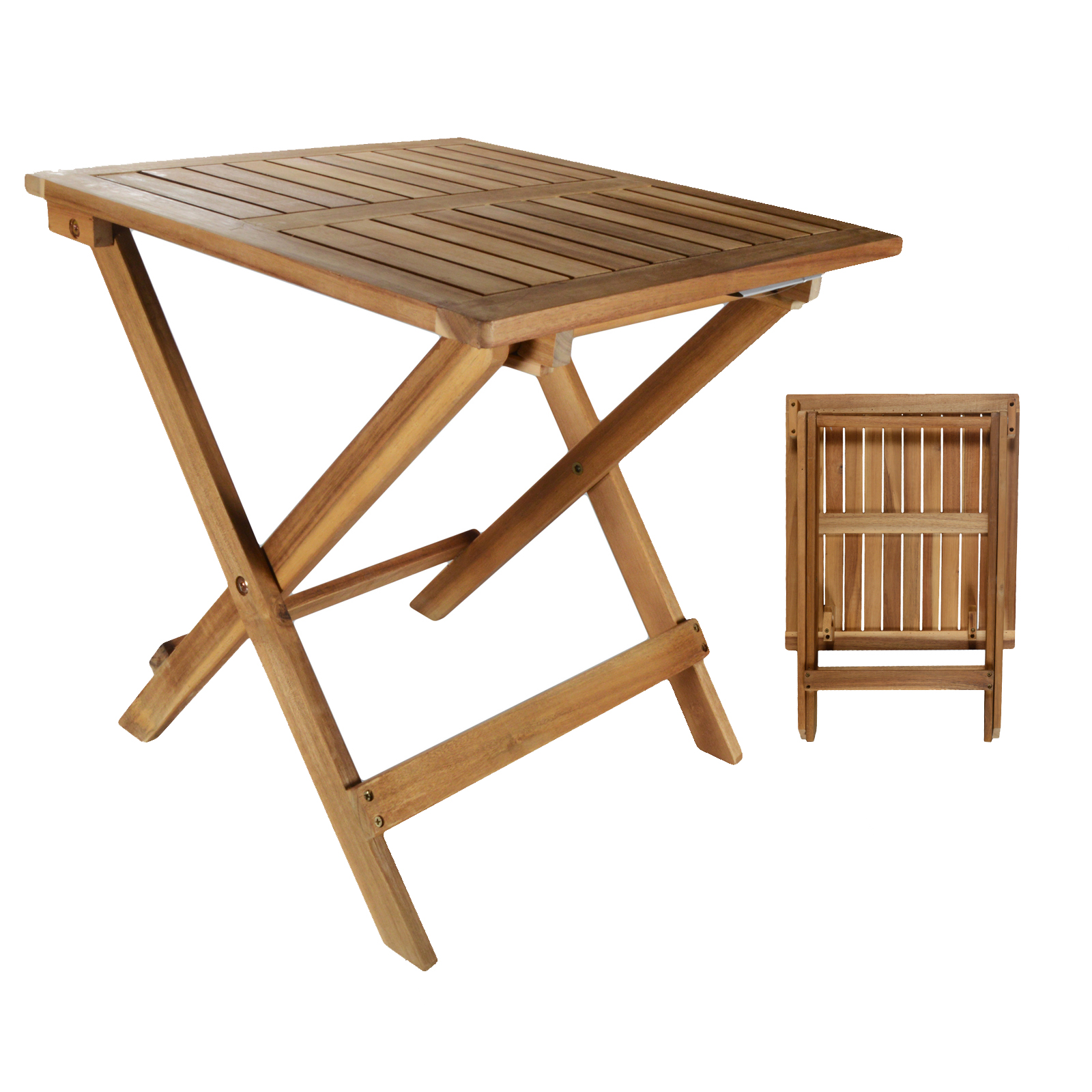 Table en bois table d 39 appoint table bois d 39 acacia bois - Table basse pliante bois ...
