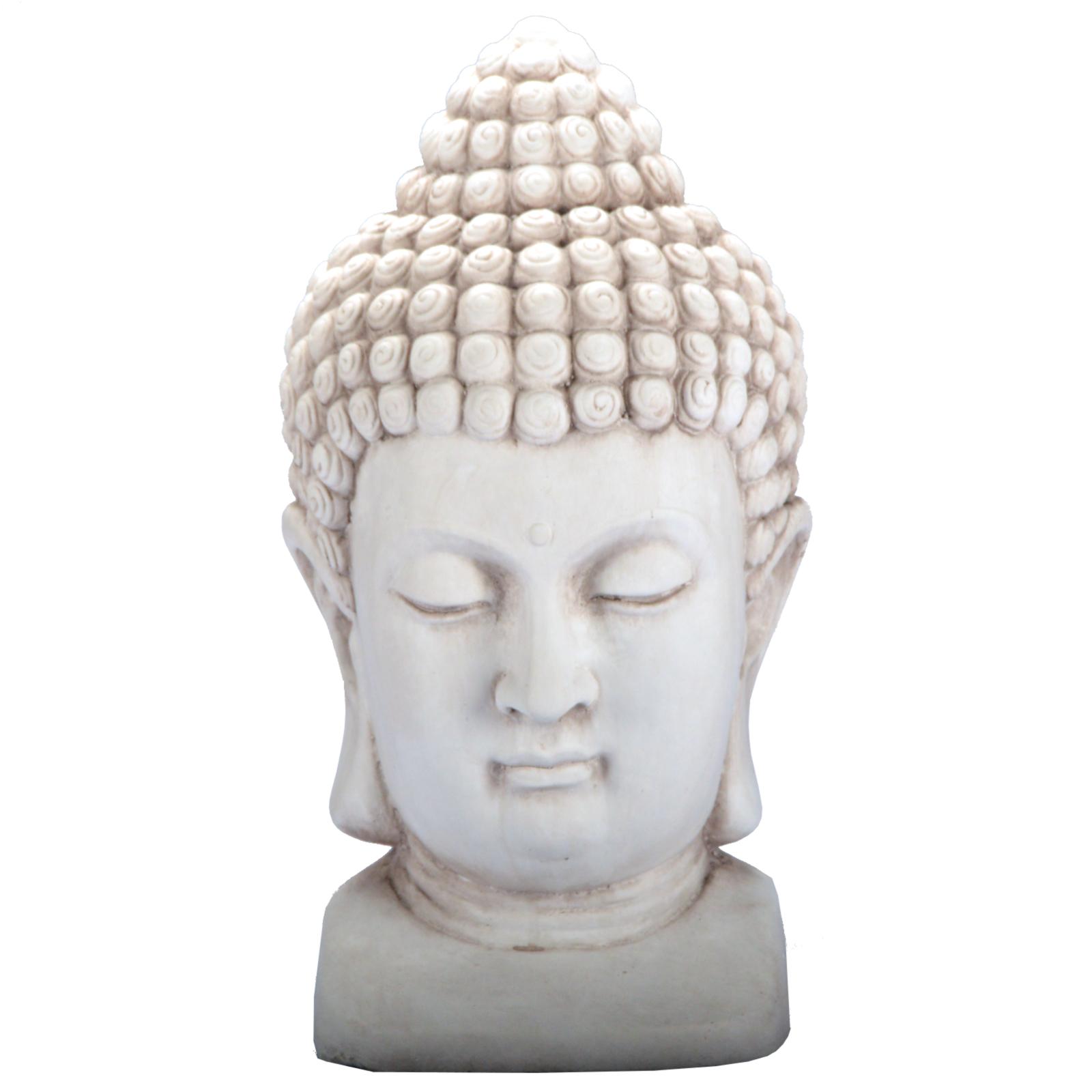 3 Farben Buddha KOPF Figur Dekoration Innendekoration Feng Shui ...