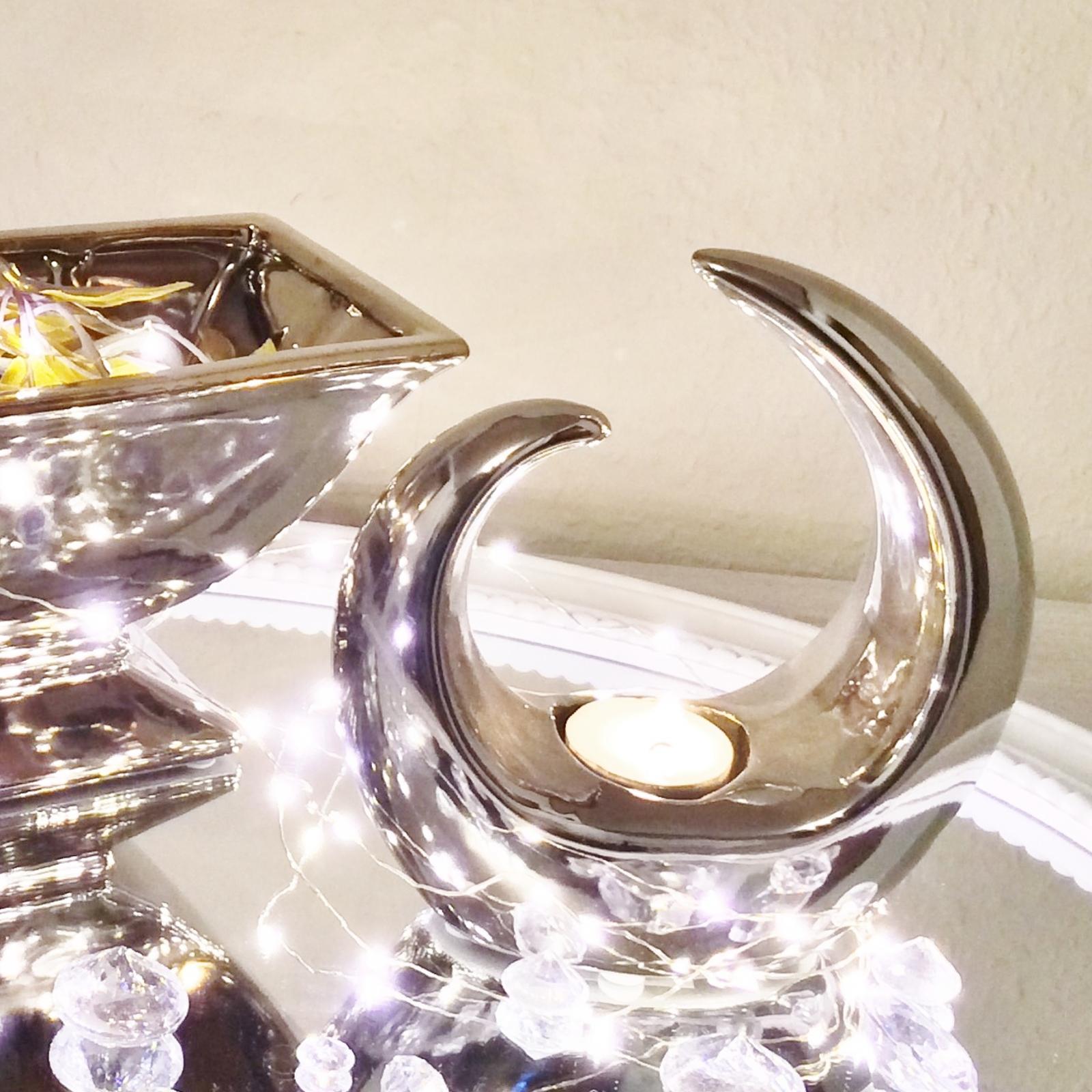 Teelichhalter teelicht deko figur objekt creek skulptur for Teelicht deko