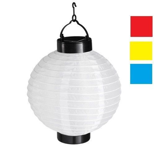 4 farben solar led lampion laterne 20 cm akku lampe party garten aus stoff ebay. Black Bedroom Furniture Sets. Home Design Ideas