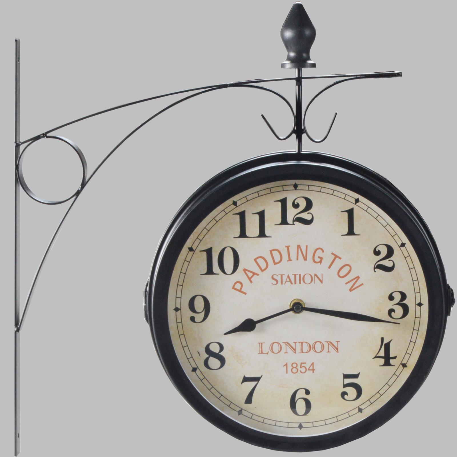 Sul lato secondario orologio da stazione orologio parete for Orologio da stazione