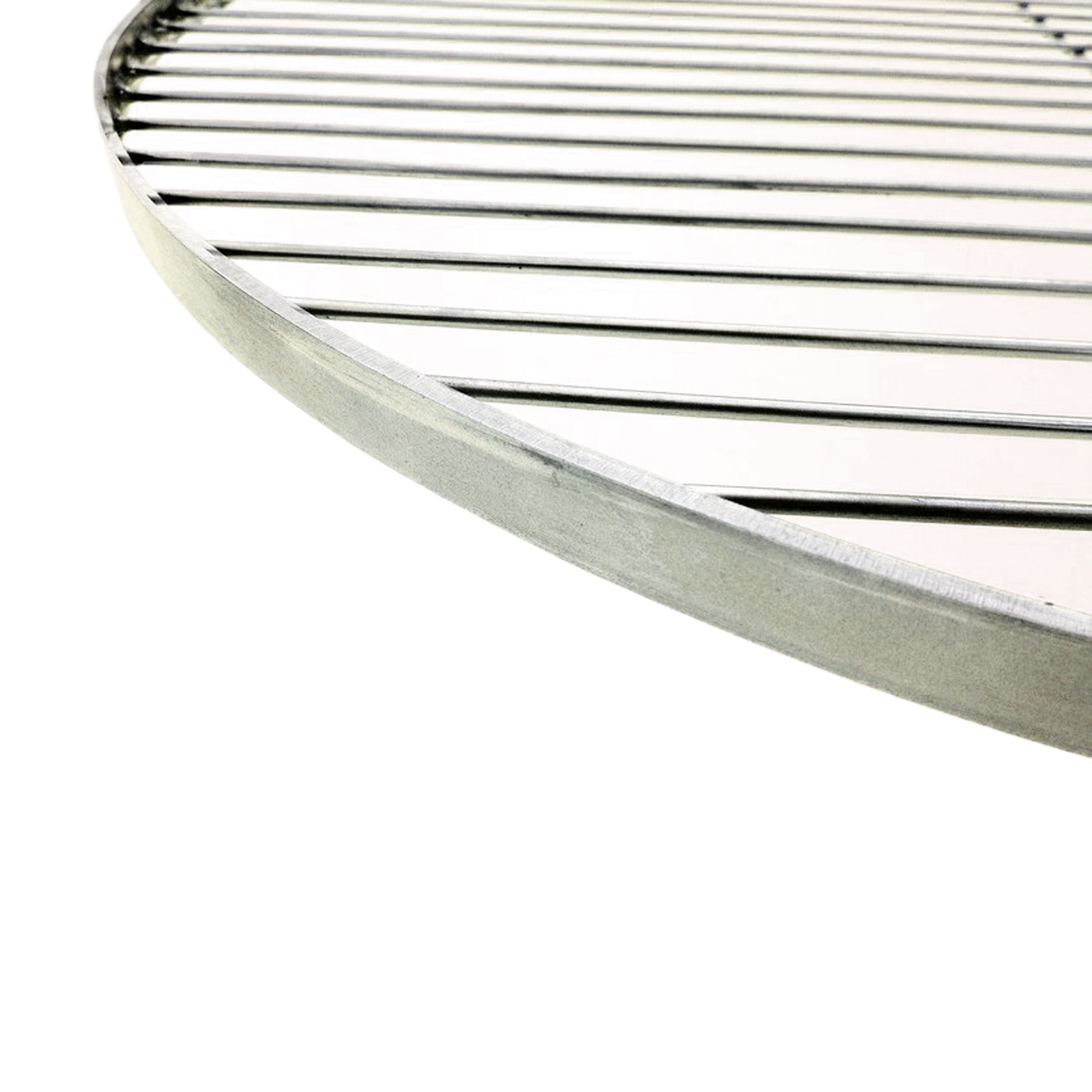 53 cm grillrost rund schwenkgrill rost grill edelstahl mit seil ebay. Black Bedroom Furniture Sets. Home Design Ideas