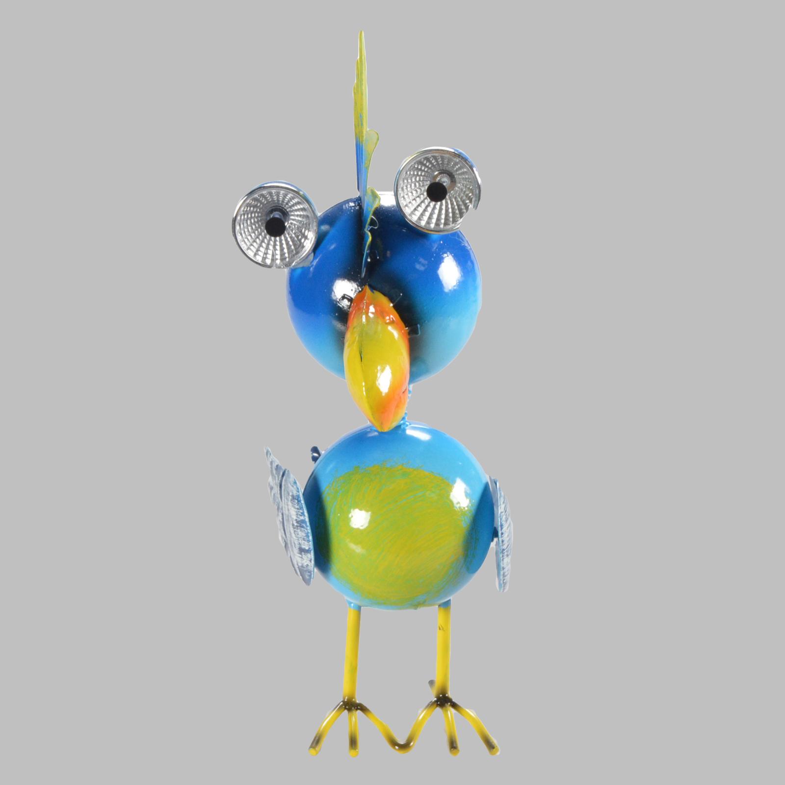 23 cm tierlampe lampe oiseau solaire d corative m tal - Lampe solaire decorative exterieure ...