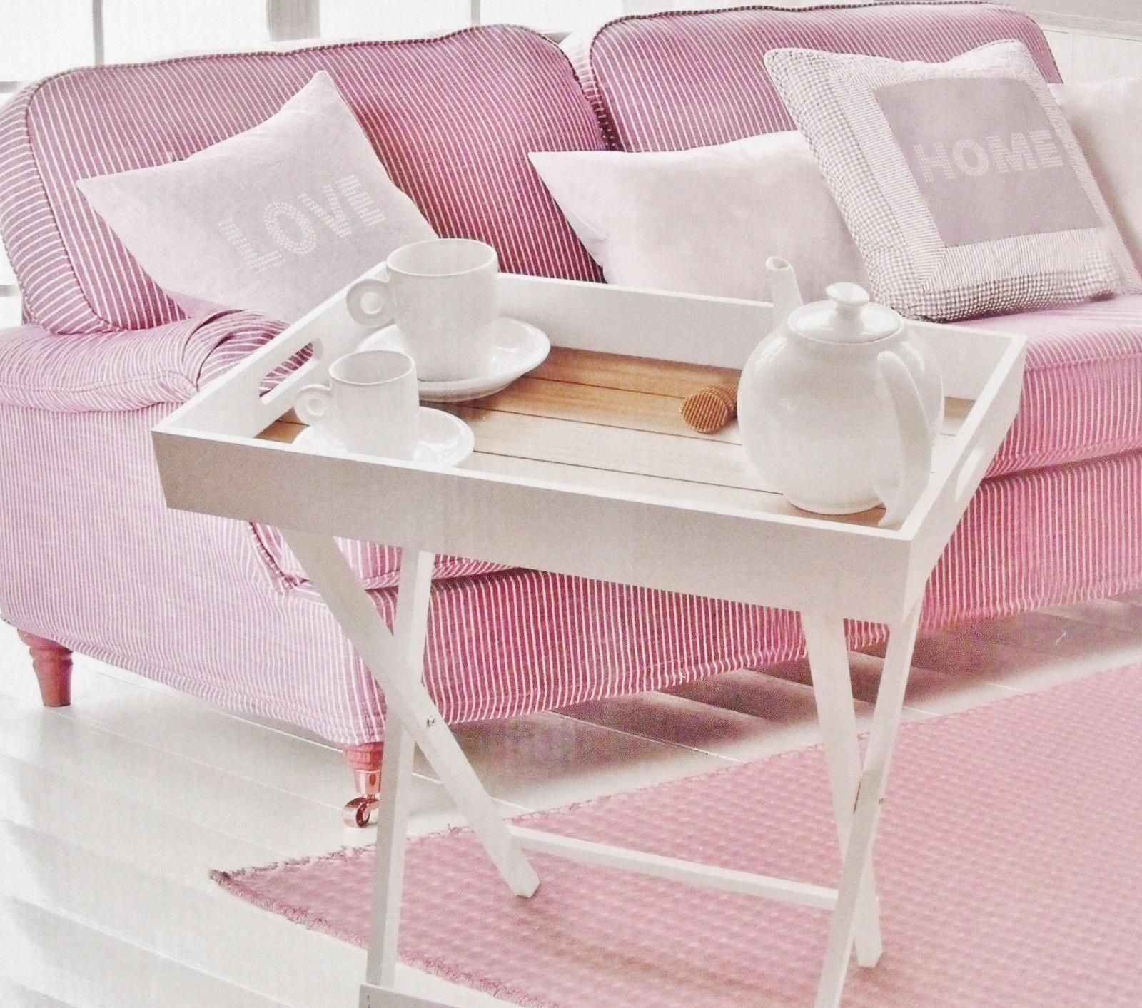 tablett tisch klapptisch holz serviertisch butlers tray beistelltisch klappbar ebay. Black Bedroom Furniture Sets. Home Design Ideas