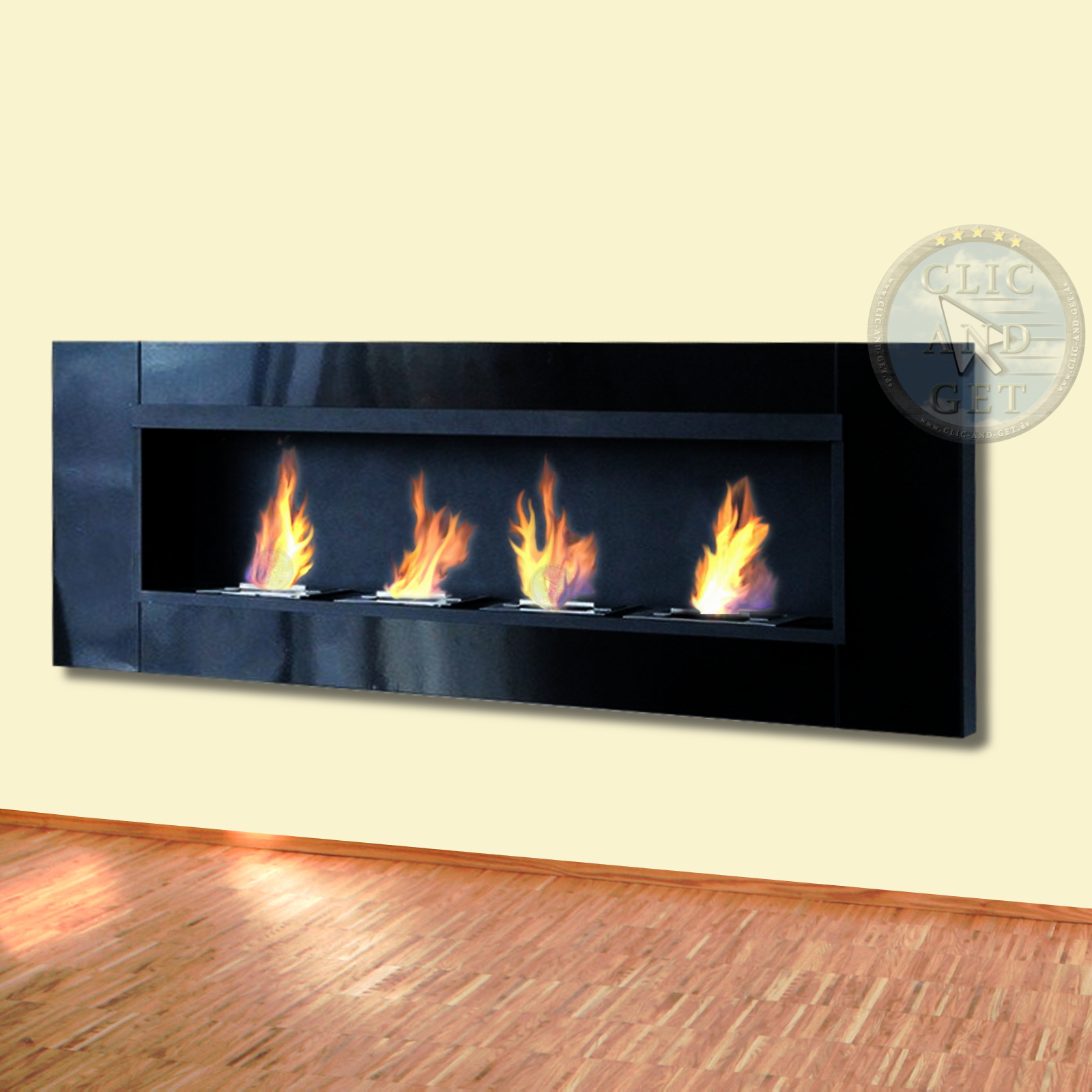 bio ethanol wall fireplace gel table ebay