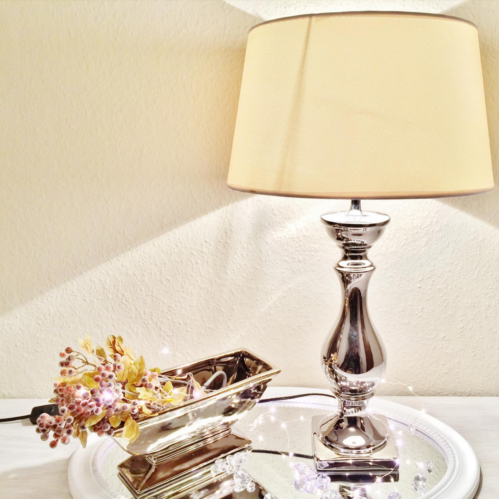 Keramik lampen lampenfu lampenschirm tischlampe for Lampenschirm tischlampe