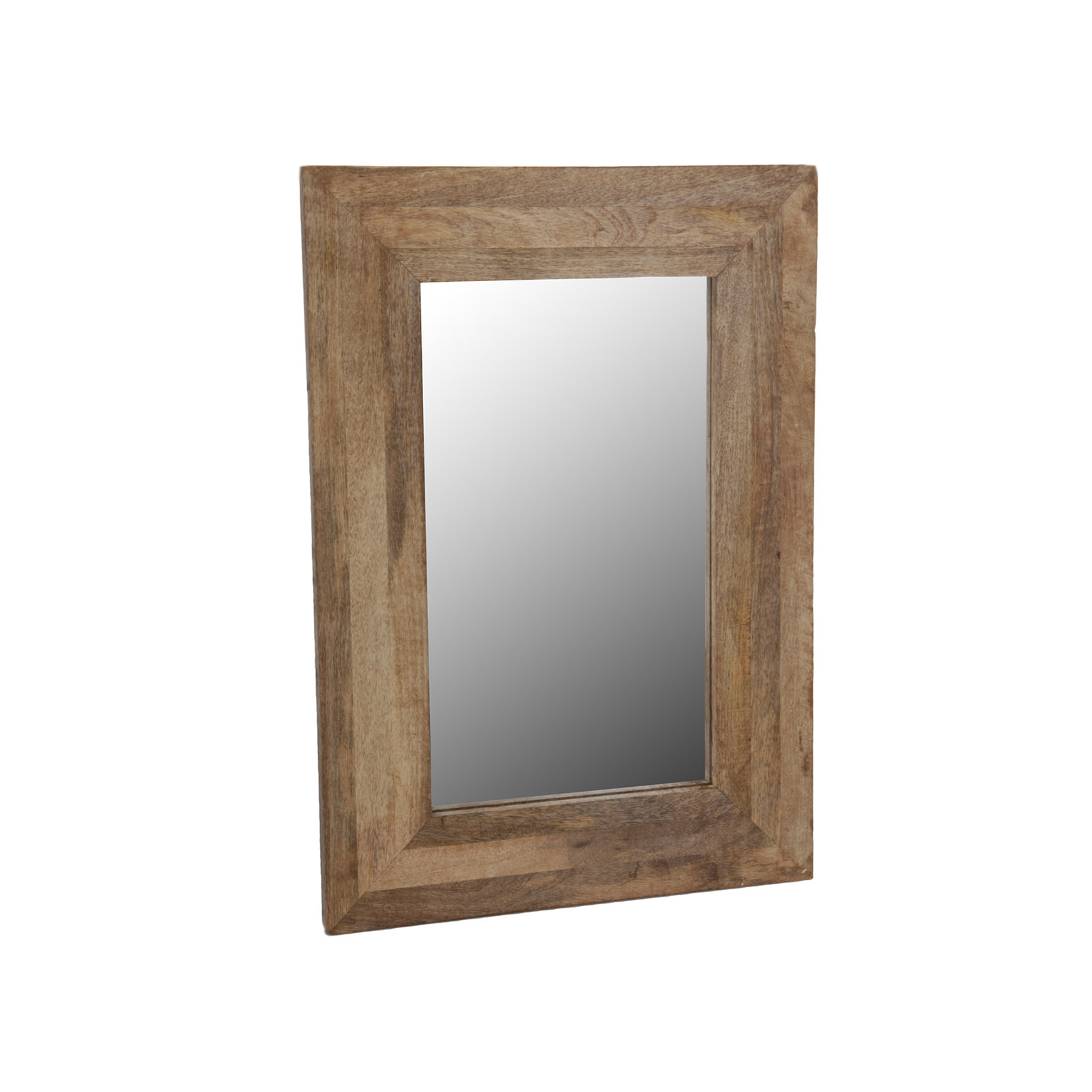 wall mirror wood frame mirror hanging mirror mango natural