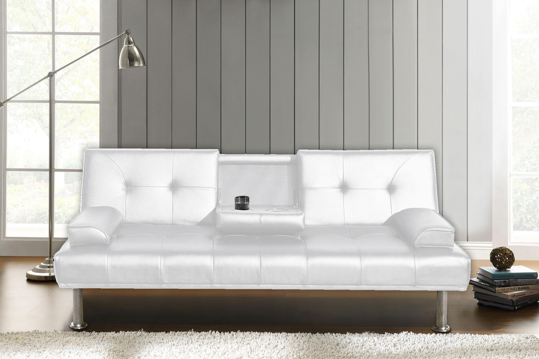 sofa schlafsofa dubai klappsofa kunstleder couch schlafcouch klappcouch garnitur ebay. Black Bedroom Furniture Sets. Home Design Ideas