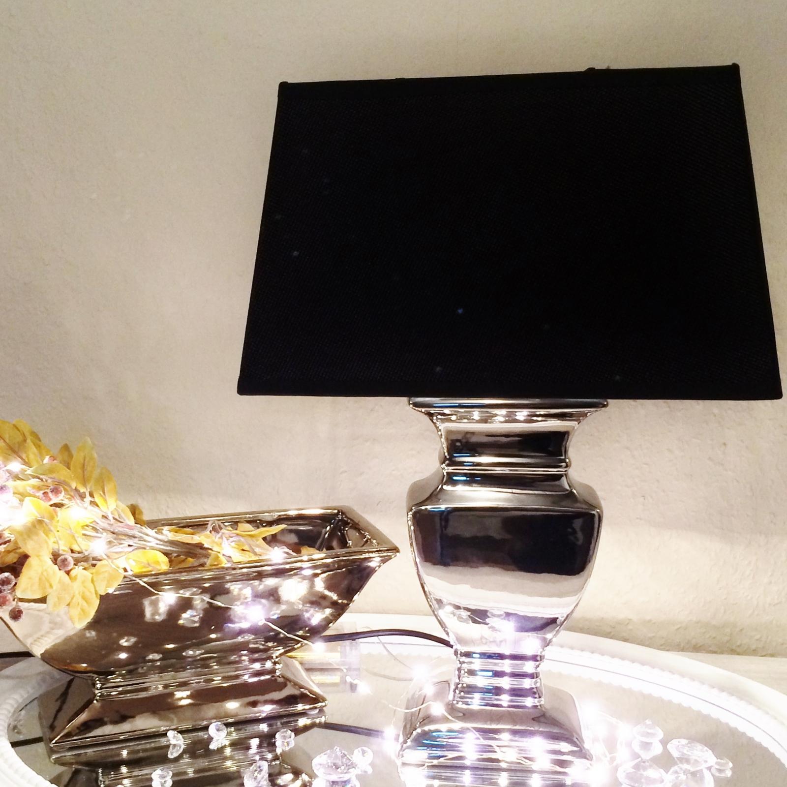 Ceramica lampade base paralume da tavolo comodino luce ebay - Lampade da tavolo in ceramica ...