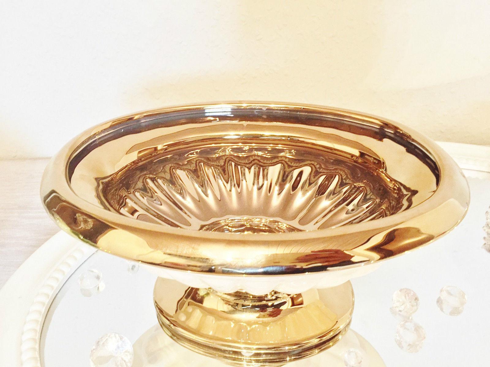Dekoschale gold tablett hollnder dekoschale goldschwarz dekoration with dekoschale gold - Dekoteller gold ...