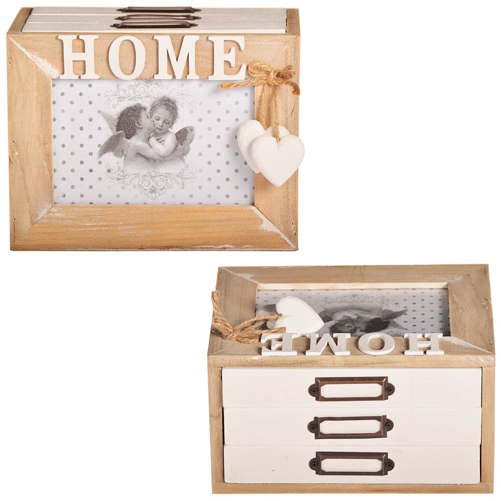 bilderkasten home fotoalbum shabby chic fotos aufbewahrungsbox schrank k stchen ebay. Black Bedroom Furniture Sets. Home Design Ideas