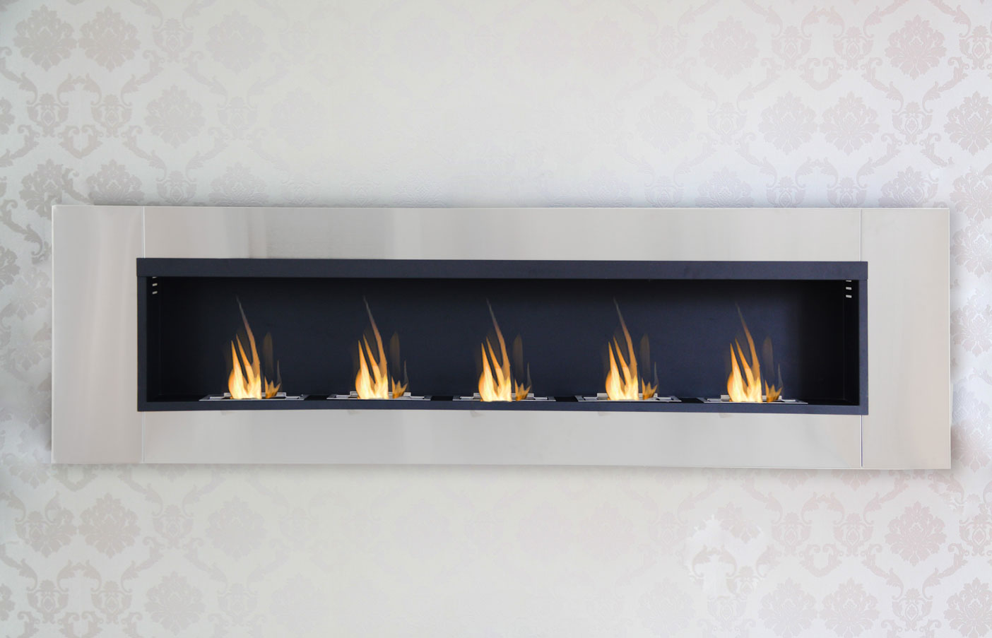 190 cm luxury chimney bio ethanol gel fireplace wall. Black Bedroom Furniture Sets. Home Design Ideas