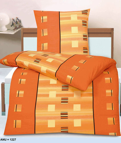 bettw sche garnitur bettbezug microfaser 135x200 155x220 200x200 orangesquare ebay. Black Bedroom Furniture Sets. Home Design Ideas