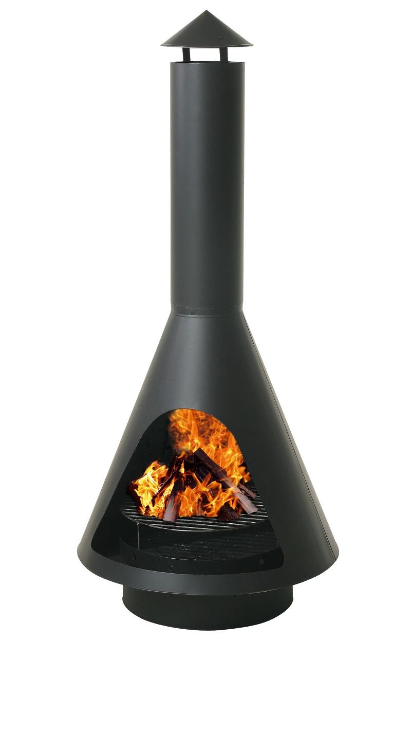 grill au enkamin grillkamin gartenkamin terrassenkamin grillrost schwarz neu ebay. Black Bedroom Furniture Sets. Home Design Ideas