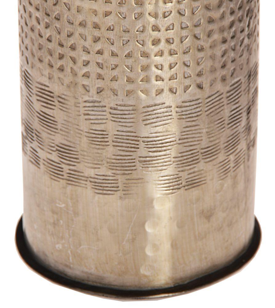 44 cm metall vase orientalisch bodenvase aluminium dekovase ...