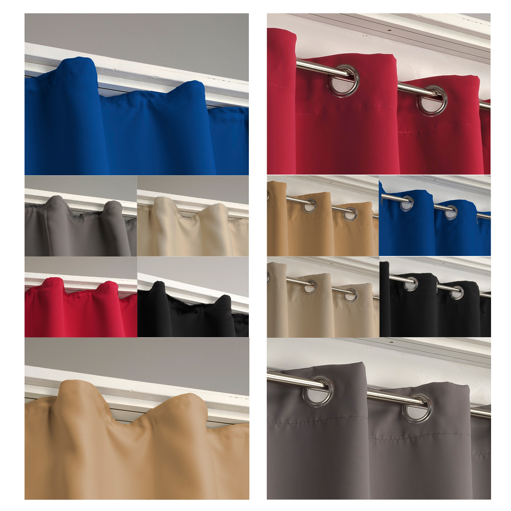 verdunklungsgardine thermogardine blickdicht gardine vorhang schal band sen. Black Bedroom Furniture Sets. Home Design Ideas