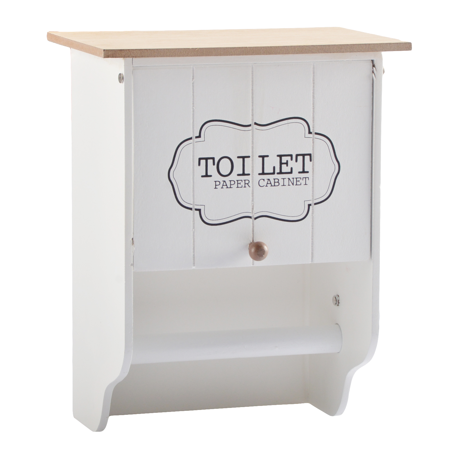 toilettenpapierhalter klopapierhalter rollenhalter holz cabinet shabby chic. Black Bedroom Furniture Sets. Home Design Ideas