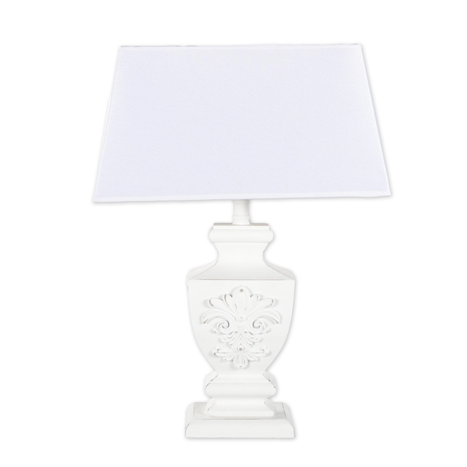 pied de lampe bois avec parapluie lampe de table lampe de chevet lampe shabby ebay. Black Bedroom Furniture Sets. Home Design Ideas