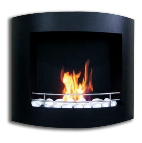 Chimney Wall Fireplace Table Ethanol Gel Combustion
