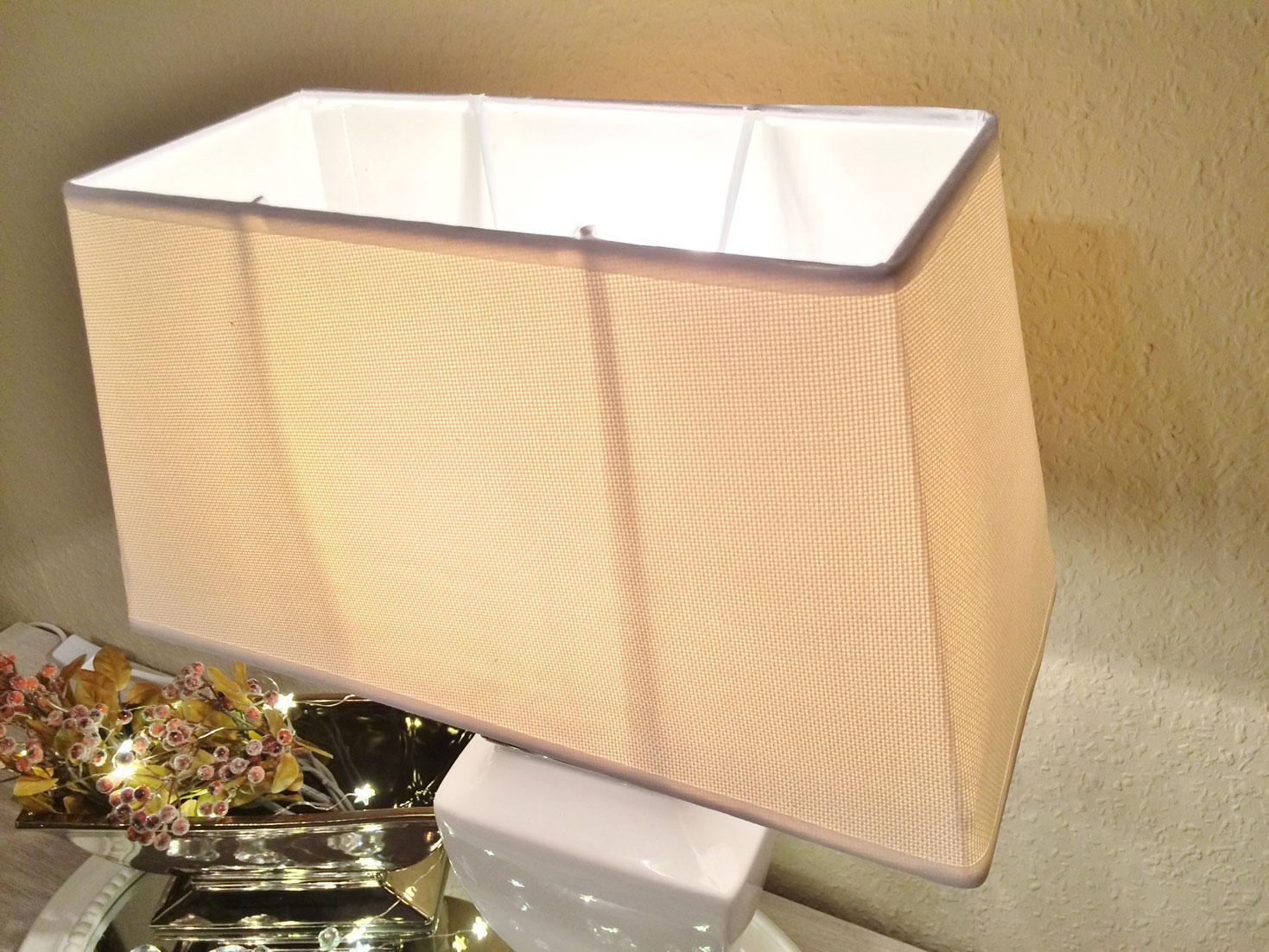 estrelle keramik lampe 36cm lampenfu lampenschirm wei nachttischlampe shabby. Black Bedroom Furniture Sets. Home Design Ideas