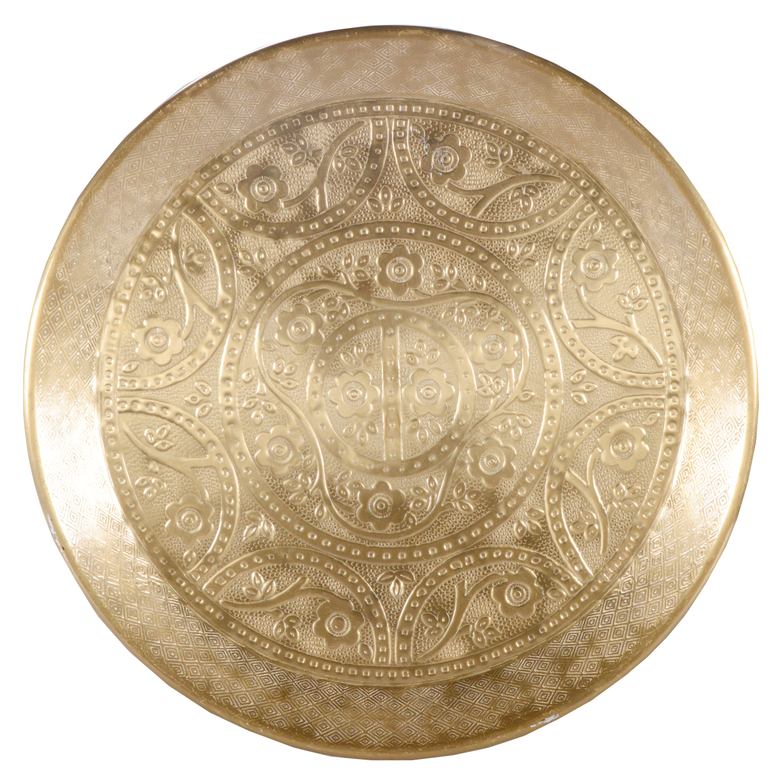 Aluminium decorative plate gold christmas fruit candle tray under ebay - Dekoteller gold ...